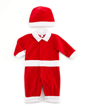 Christmas Delights Playsuit & Hat