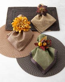 Desert Flower Napkin Ring