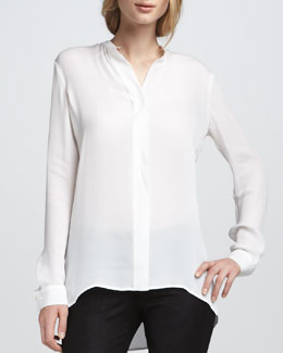 Vince Silk Blouse