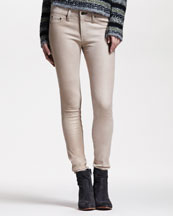 rag & bone/JEAN Skinny Nude Leather Pants