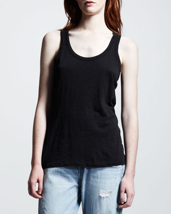 The Classic Beater Tank, Black