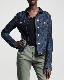 rag & bone/JEAN The Jean Jacket, Medium Indigo