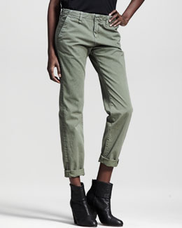 rag & bone/JEAN Portobello Slim Pants, Vintage Army