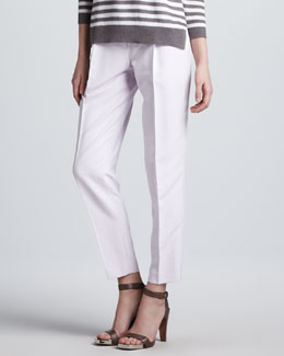 Theory Menton Relaxed Silk Pants