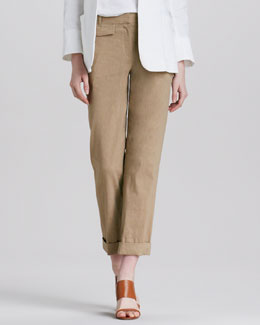 Theory Rumer Relaxed Cuffed Pants