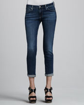 AG Adriano Goldschmied Stilt Roll Up Rio Skinny Jeans