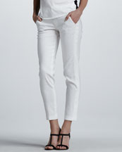 Vince Side-Stripe Cropped Pants
