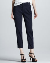 Vince Pleated Twill Pants
