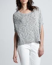 Vince Loose Cropped Sweater
