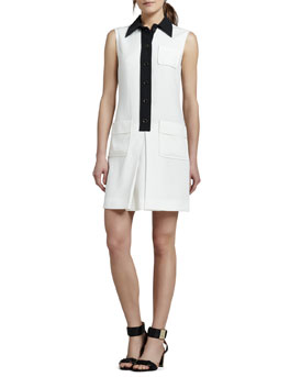 Rachel Zoe Rosie Colorblock Shirtdress