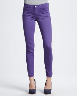 J Brand Jeans 620 Super Skinny Jeans in Washed Hyacinth