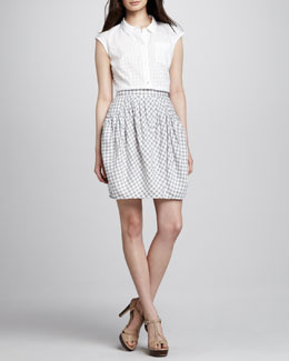 MARC by Marc Jacobs Tiffany Check Skirt