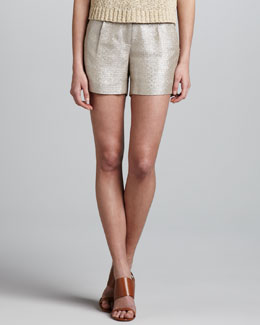 Milly Metallic Shorts
