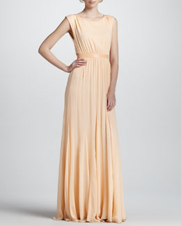 Alice + Olivia Triss Belted Maxi Dress