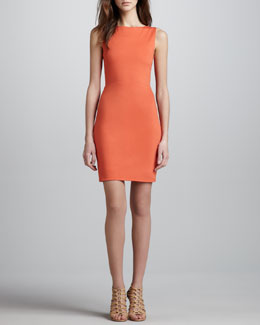 Alice + Olivia Tali Open-Back Dress