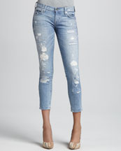 TEXTILE Elizabeth and James Ozzy Rip & Repair Jeans