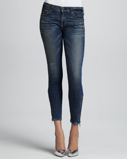TEXTILE Elizabeth and James Davis Lovesick Zip-Ankle Jeans