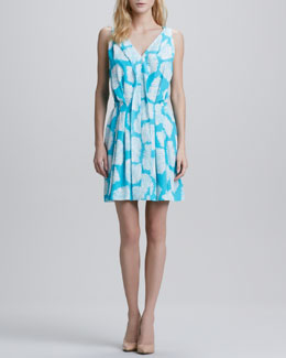 Diane von Furstenberg Bahar Sleeveless Printed Dress
