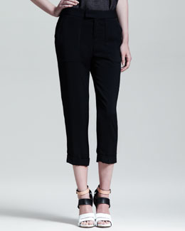 Rag & Bone Cropped Beach Pants