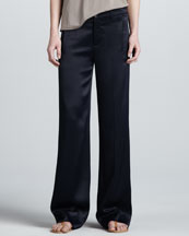 Vince Relaxed Satin Trousers