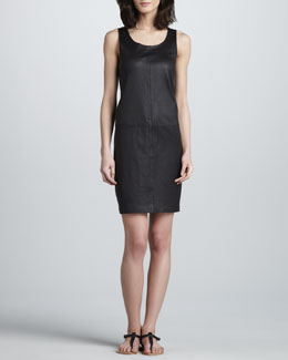 Vince Leather Tank Dress