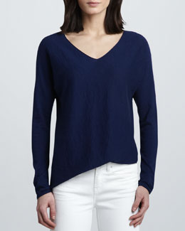 Vince V-Neck Knit Sweater