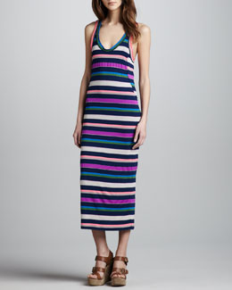 MARC by Marc Jacobs Smash Striped Maxi Dress