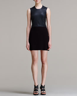 HELMUT Helmut Lang Gala Combo Mini Dress