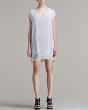 HELMUT Helmut Lang Breeze Slouchy Pocket Dress