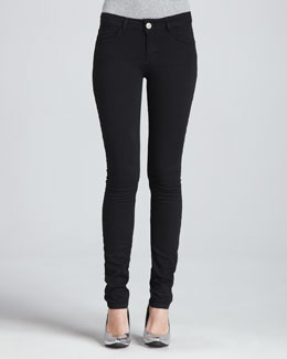 RED Valentino Skinny Jeans, Black