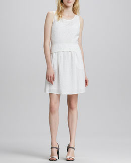 MARC by Marc Jacobs Rosie Sleeveless Eyelet Dress