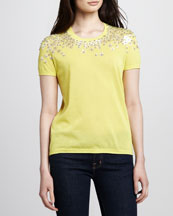 Tory Burch MaryGrace Embellished Sweater