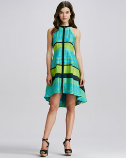 Nanette Lepore Bogatell Front-Zip Dress