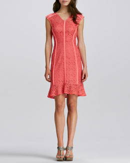 Nanette Lepore La Roca Lace Dress, Mango