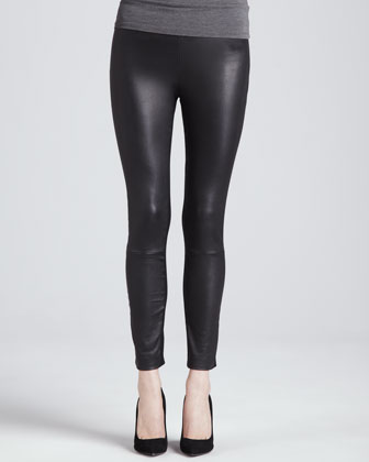 Karen Leather Stretch Pants