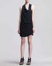 Helmut Lang Solar Drape Wrap Dress