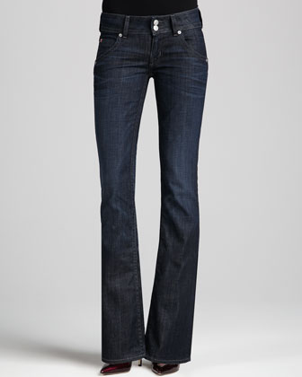 Signature Savage Boot-Cut Jeans