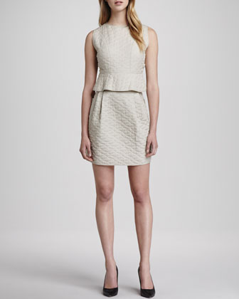 Dasta Quilted Sleeveless Dress