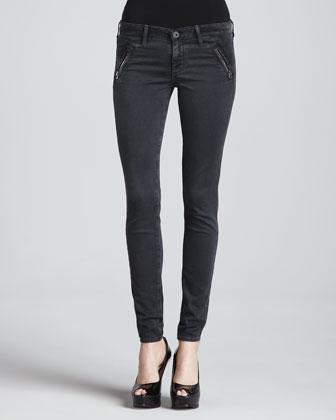 The Willow Sulfur Denim Leggings