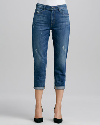 Manny Winter Wrecked Boyfriend Jeans