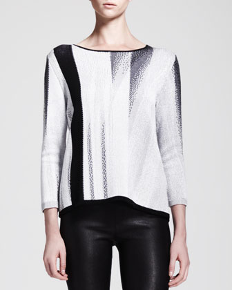 Virga Jacquard Knit Sweater