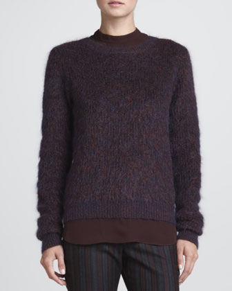 Halls Fuzzy Knit Sweater