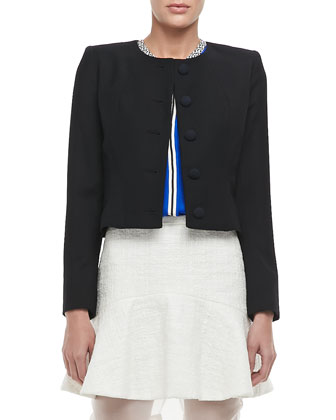 Emily Cropped Wool Jacket