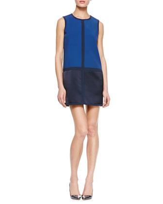 Margot Colorblock Shift Dress