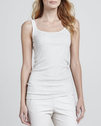 Favorite Tank, Heather White