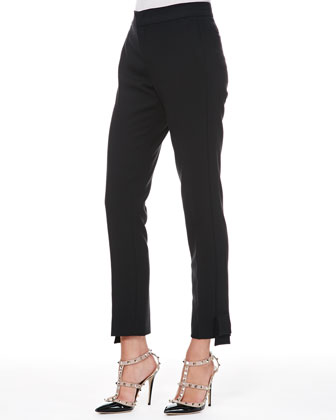 Tech Cady Bow Ankle Pants