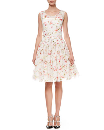 Sweet Pea Full-Skirt Dress
