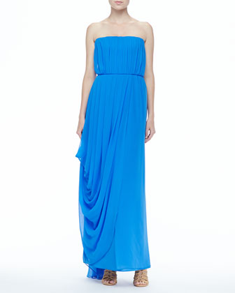 Waldorf Strapless Maxi Dress