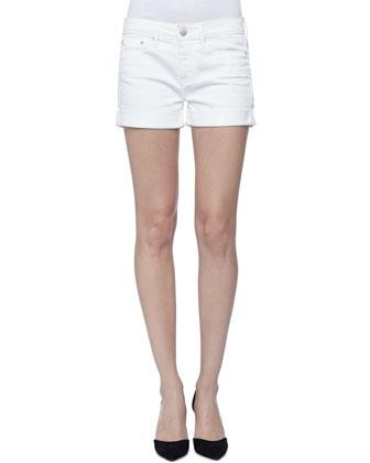 Cool Skinny Cuffed Shorts