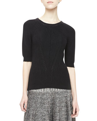 Tomoko Textured Knit Sweater